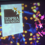 TOPRA Awards for regulatory excellence - logo