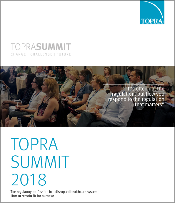 TOPRA Summit Briefing Cover