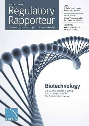June 2020 Regulatory Rapporteur cover