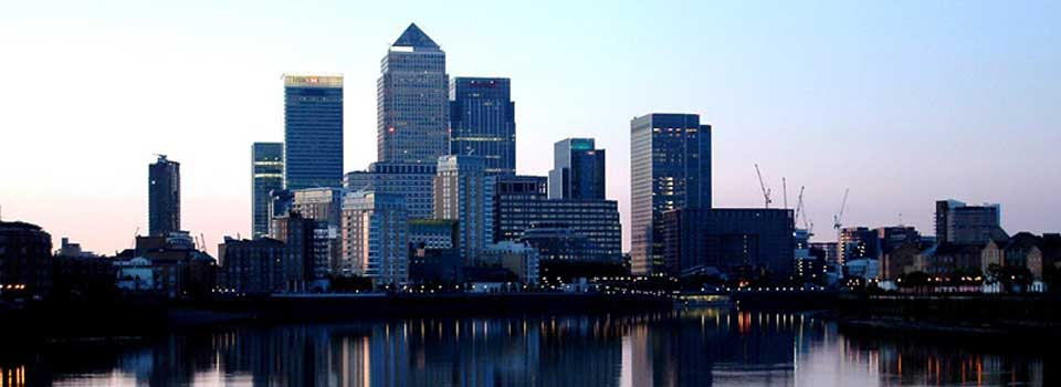 Located close to Canary Wharf