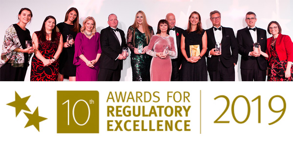 Awards for Regulatory Excellence 2019 logo