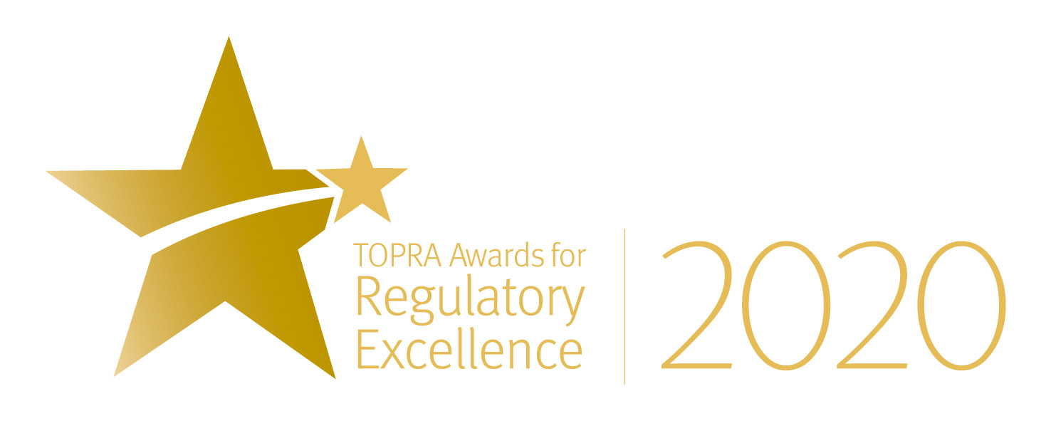 2020 Awards for Regulatory Excellence logo