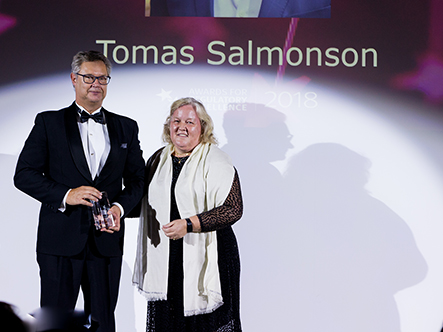 2018 Lifetime Achievement Award Winner Tomas Salmonson