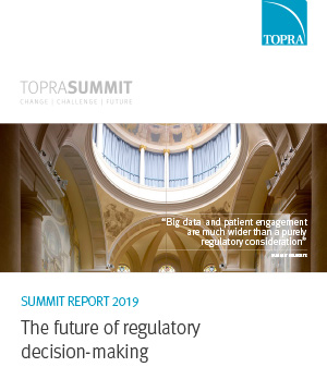 TOPRA Summit Report 2019 cover page